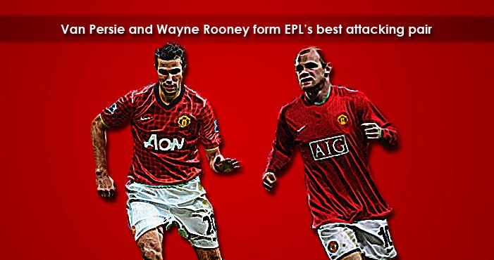 """""""Rooney - Van Persie"""" Lethal Attacking Pair"""