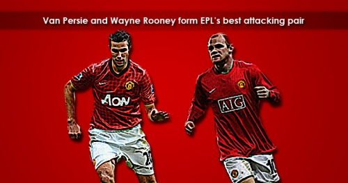 """Rooney - Van Persie"" Lethal Attacking Pair"