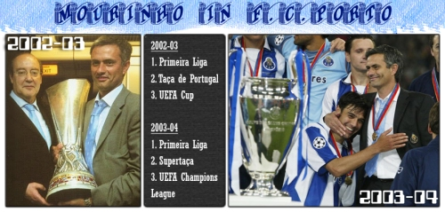 Jose Mourinho in F.C.Porto